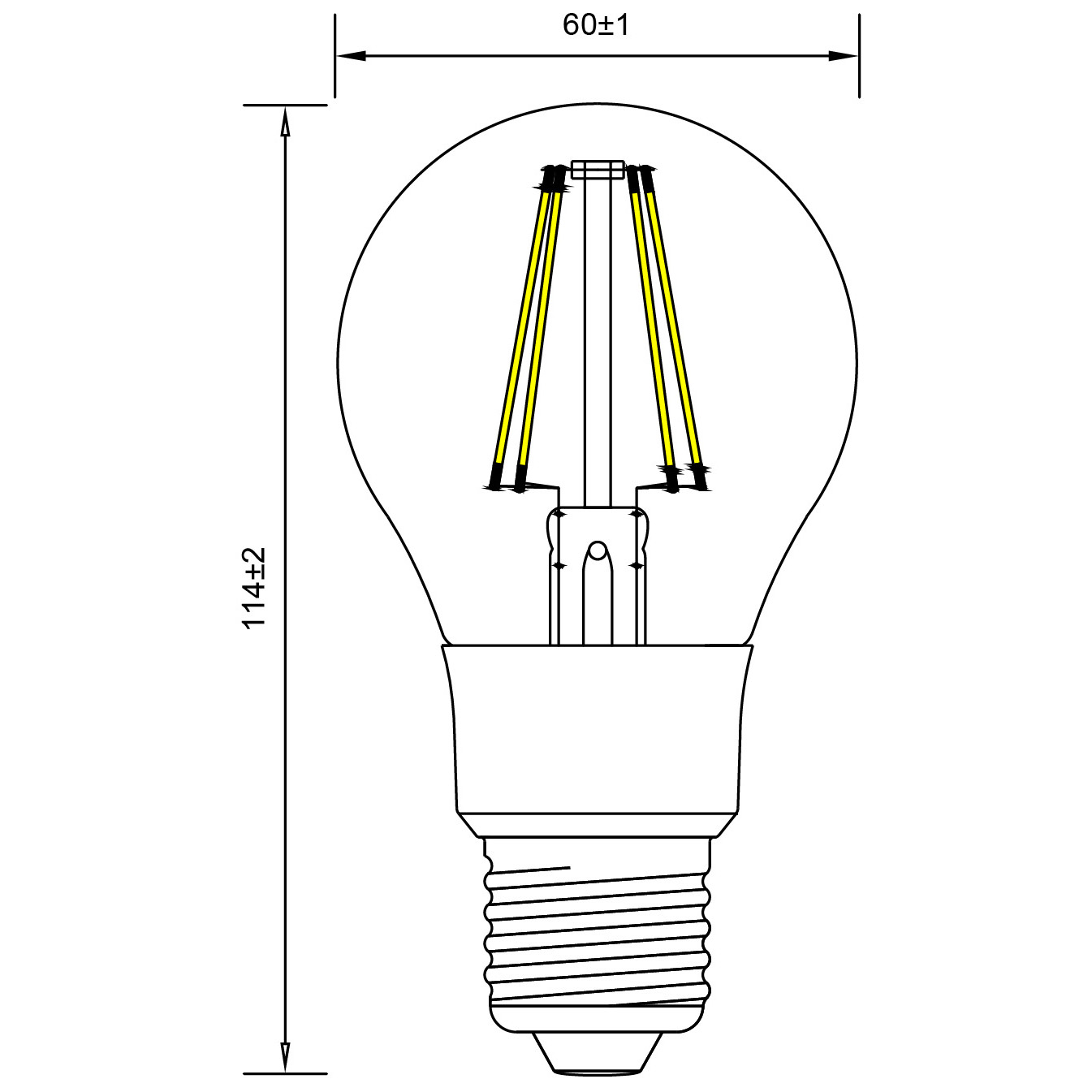 Line Art Solutions Ltd : Toledo retro dimmable sylvania lighting solutions