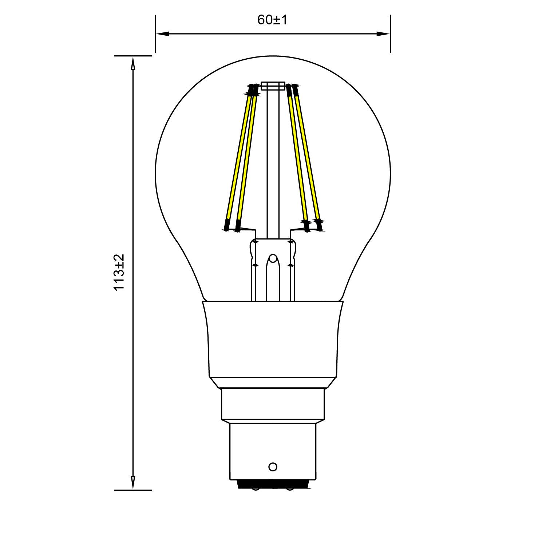 Line Art Solutions Ltd : Toledo retro dimmable sylvania lighting solutions